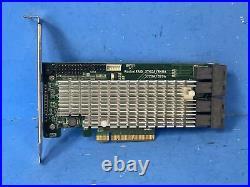 HighPoint RocketRAID 3740A 12Gb/s PCIe 3.0 x8 SAS/SATA RAID Host Bus Adapter