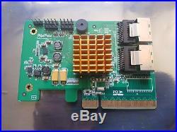 HighPoint RocketRAID RR2720SGL SAS SATA 8 Internal Ports PCI-e RAID HBA