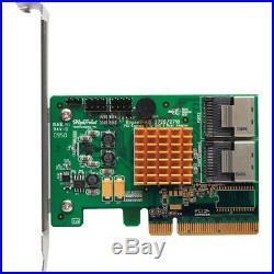 HighPoint RocketRaid 2720SGL 6Gb/s 8 Channel PCI-Express 2.0 X8 SAS/SATA RAID