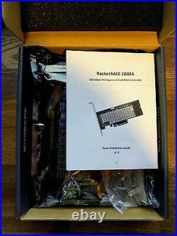 Highpoint Tech RR2840A RocketRAID 16ch Pcie3.0 X8 Sas sata Raid Controller Card