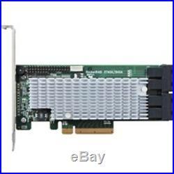 Highpoint Tech Rr2840A 16Ch. Pcie3.0 X8 Sas/Sata Raid 0/1/5/6/10/50 And Jbod