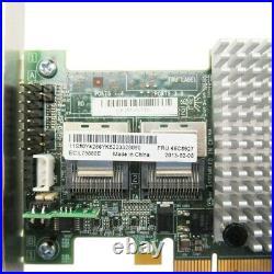 IBM 46C8927 LSI ServeRAID M5015 SAS SATA PCIe 512MB RAID Controller High Profile