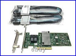 IBM Lenovo M1215 SATA / SAS HBA Controller IT-Mode 12Gb PCIe x8 LSI RAID TrueNAS
