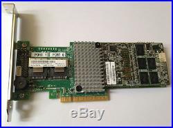 IBM M5016 Controller Raid SAS/SATA PCIe 6GB 1G cache +BBU09 Battery =M5110 9265