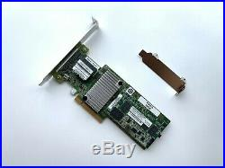 IBM ServeRAID M5210 SAS SATA PCI-E RAID Controller 46C9111 + 2GB Caching + BBU
