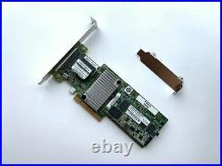 IBM ServeRAID M5210 SAS SATA PCI-E RAID Controller 46C9111 + 2GB Caching module