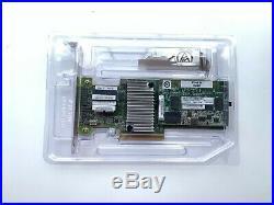 IBM ServeRAID M5210 SAS SATA PCI-E RAID Controller 46C9111 + 44W3394 2GB module