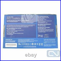 INTEL LSI3008 RAID CNTRLr CRS3WC080 PCIe 3.0 x8 12Gb/S-SAS 6Gb/s-SATA 8 Ports