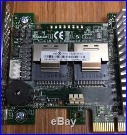 Intel RAID Controller RS25DB080 8 Port 6GB/s PCIe SAS/SATA, PCIe 3.0