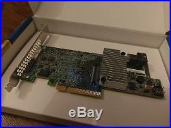 Intel RAID Controller RS3DC040 4 port 12Gb/s SAS/SATA PCIe x8 Gen3 LSI3108