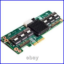 Intel RAID Expander 24port 6Gbps SATA SAS Server Adapter RES2SV240 8MB used