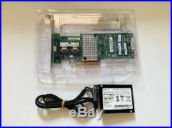 Intel RAID RS25DB080 SAS/SATA 8 port 1GB cache PCI-E Controller Card + BBU