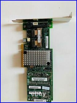 Intel RAID SAS/SATA 8 port 1GB cache PCI-E 2.0 x8 Controller Card RS25DB080