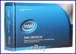 Intel RAID SATA 8 internal port with 256MB cache PCI-E 2.0 x8 Controller RT3WB080