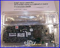 Intel RCS25ZB040 6Gbs SAS/SATA PCIe x8 SSD RAID Cache Controller Tested Return