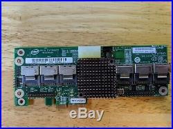 Intel RES2SV240NC PCIe X4 SATA SAS RAID Expander Card