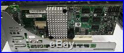 Intel RS2BL040 512MB PCIe2.0 x8 SAS/SATA 6.0Gbps Raid Controller with PCIe Adapter