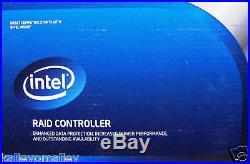 Intel RS2MB044 SAS/SATA 6G Low-Profile MD2 PCIe RAID Controller New Retail Box