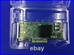 Intel RS3UC080 HBA JBOD IT Mode PCIe x8 Gen3 SAS/SATA RAID Controller