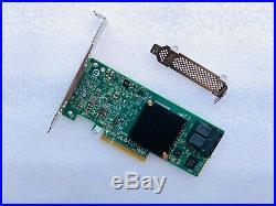 Intel RS3UC080J HBA JBOD IT Mode PCIe x8 Gen3 SAS/SATA RAID Controller