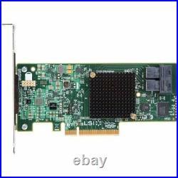 Intel RS3UC080J PCIe x8 Gen3 SAS/SATA RAID Controller NEW OPEN RETAIL BOX