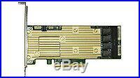 Intel RSP3TD160F RAID controller PCI Express x8 3.0 Tri-mode PCIe/SAS/SATA