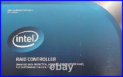 Intel RT3WB080 RAID Controller Low Profile MD2 Card, 6 Gb/s, SATA New Retail Box