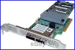 Intel SAS SATA 6Gb/s PCIe RAID Controller RS25SB008 2x SFF-8088 L4-25436-04A