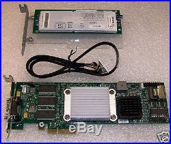 Intel SRCSAS144E SATA/SAS PCI-E RAID Controller With AXXRIBBU1 Battery Backup