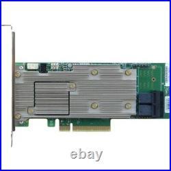 Intel Tri-Mode PCIe/SAS/SATA Full-Featured RAID Adapter, 8 Internal Ports