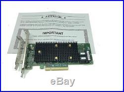 Intel Tri-Mode PCIe/SAS/SATA RAID Adapter 8 Internal Ports NVMe PCI Express x8