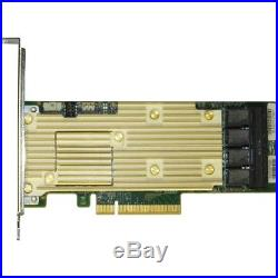 Intel Tri-mode PCIe/SAS/SATA Full-Featured RAID Adapter, 16 internal ports