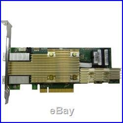 Intel Tri-mode PCIe/SAS/SATA Full-Featured RAID Adapter, 8 Internal (rsp3md088f)