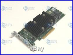 J7tnv Dell Perc Hba330+ 12gbps Sas SATA Pci-e X8 Raid Controller 0j7tnv
