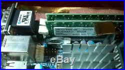 Kontron Mini-ITX Board DualCore 4GB RAM SATA Raid PCIe PCI HD-Audio 12 USB