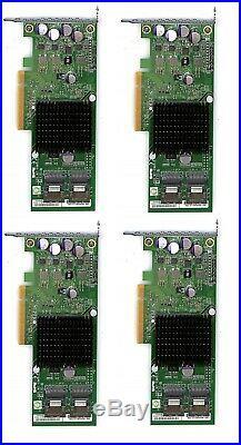 LOT 4x Supermicro AOC-S2308L-L8I 8-Port SAS/SATA PCI-Express Carte RAID