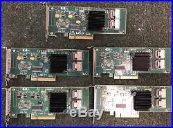 LOT 5x LSI PCIe SAS/SATA RAID Controller IT Mode SAS9211-8i flashed