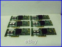 LOT OF 6 IBM 46M0861 SAS/SATA PCI-e RAID Controller LSI SAS9220-8i