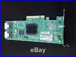 LSI 8-Port Internal 3Gb/s SATA and SAS PCIe HBA with Integrated RAID SAS3081E-R