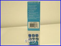 LSI 9211-8i P/N LSI00194 SATA SAS PCI-Express 2.0 RAID Controller Card BRAND NEW