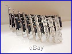 LSI 9211-8i SAS/SATA 6Gb/s 8Ports Controller HBA PCIE RAID Card. Lot of 10 Cards
