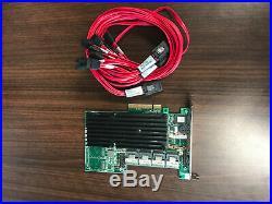 LSI 9260-16i MegaRAID LSI00208 SAS SATA 6Gb/s PCIe x8 16-Port RAID Controller