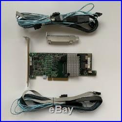 LSI 9266-8i 8-port 6Gb/s SATA+SAS PCI-E 2.0 8Port 1GB RAID + 2PCS 8087 SATA