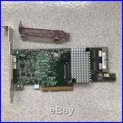 LSI 9266-8i 8-port 6Gb/s SATA+SAS PCI-E 2.0 RAID Card with BBU09 Battery