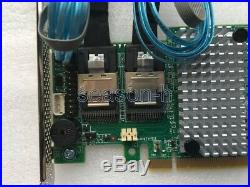 LSI 9270-8i 1GB PCIe 3.0 6Gb Controller Raid Card+2pcs 8087 to (4) 7-Pin SATA