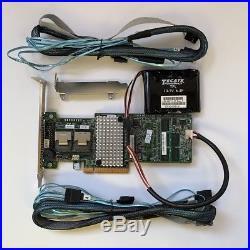 LSI 9270CV-8i 1G Cache RAID PCIe 3.0 6G RAID Controller + Battery +28087 SATA