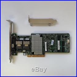 LSI 9270CV-8i 1G Cache SAS RAID PCIe 3.0 6G RAID Controll +BBU09 + 2 8087 SATA