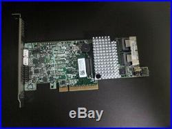 LSI 9271-8i 6Gb/s PCIe SATA/SA S HW RAID controller (1 GB cache)