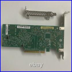 LSI 9311-8i 12Gbps 8 Ports HBA RAID Controller Netzwerkkarten + 2PCS 8643 SATA