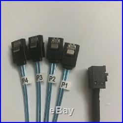 LSI 9311-8i 12Gbps HBA PCI-E 3.0 SATA SAS RAID Controller +2X 8643 to SATA cable
